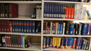 قفسه کتابخانه فلزی